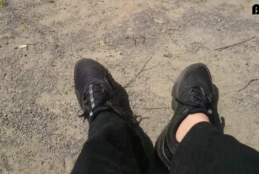 Kleine Pause beim Spaziergang am Steinhuder Meer
