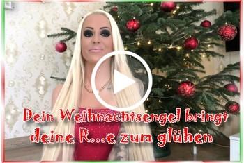 Dein Weihnachtsengel bringt deine R**e zum glühen