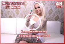 Wunschvideo für Michi - Vorsorgeuntersuchung bei Krankenschwester Tini 4K