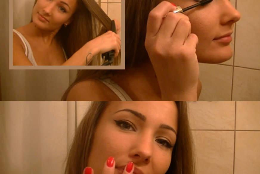 Vor dem Spiegel für Dich