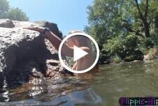 Schwimmen im See - Mit Unterwasseraufnahmen