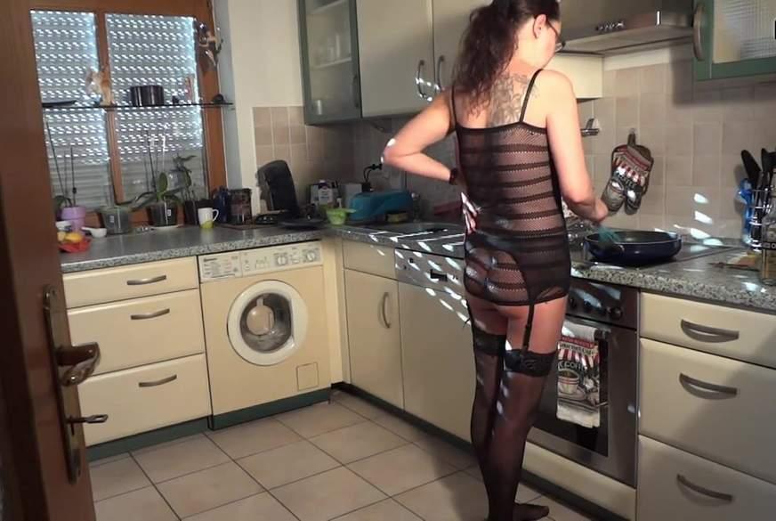 Geil in der Küche g*****t