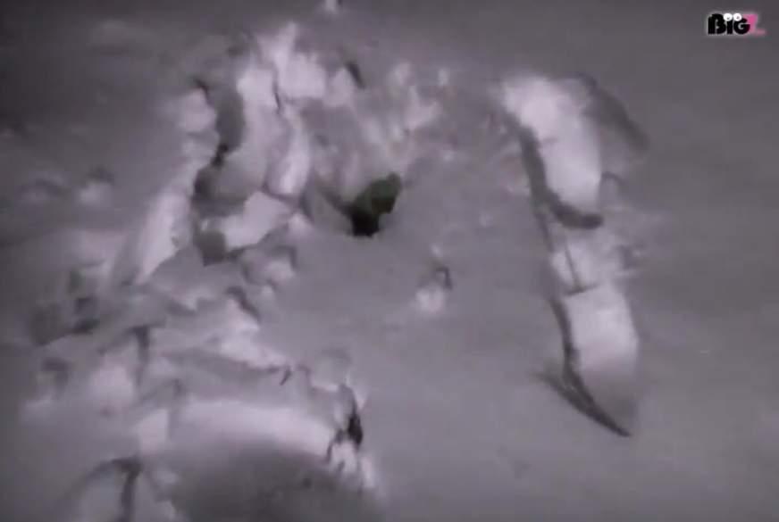 In den Schnee g*****t