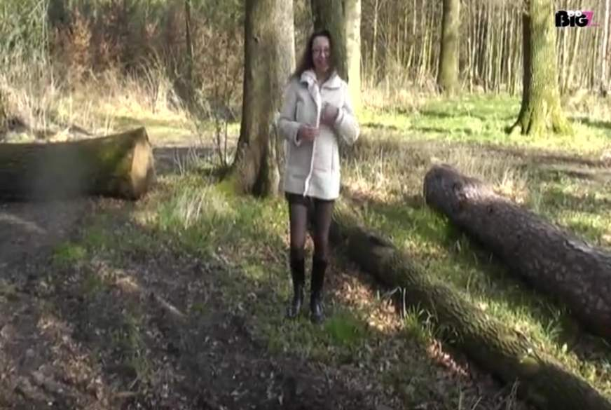 F***treffen im Wald