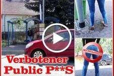 Verbotener Public Piss!!