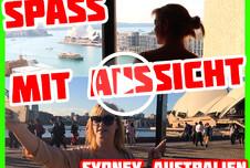AO Fick mit Anny Aurora mit Blick auf Sydney