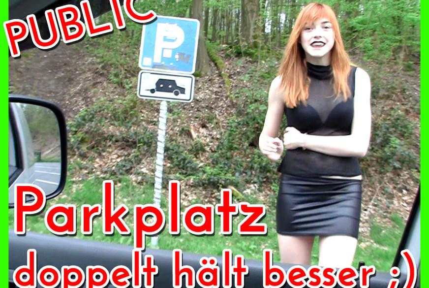 2x Public Parkplatz F**k!