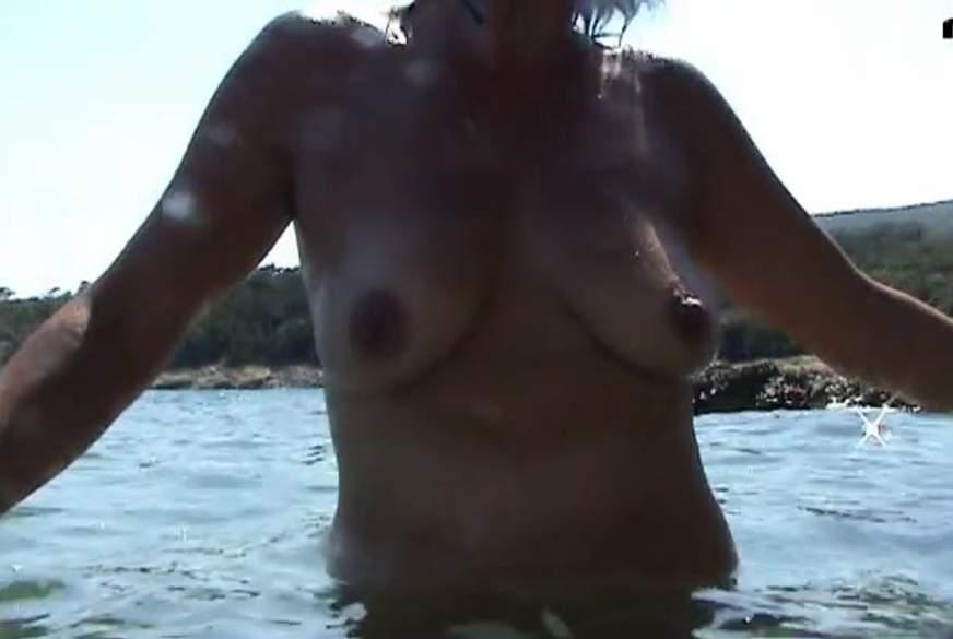 ADRIA URLAUB  Unterwasser M****i und Titten