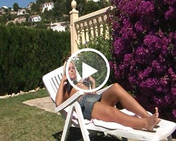 Endlich wieder Urlaub ! Kurz relaxen und geile S******e b****n