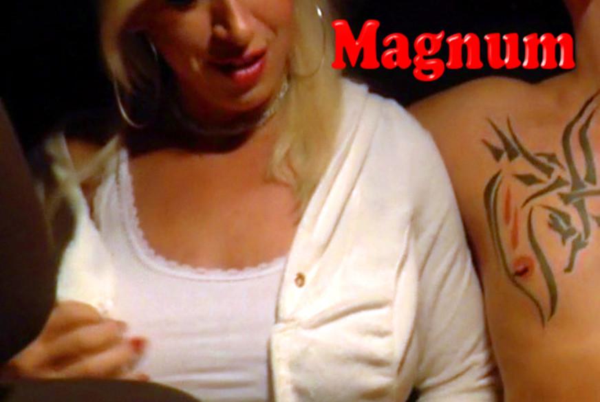 3er MANU MAGNUM L***o DOPPEL D P***o im STRAßENVERKEHR !! Teil 1