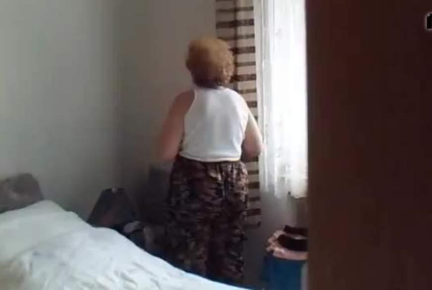 Spanner filmte mich im Schlafzimmer