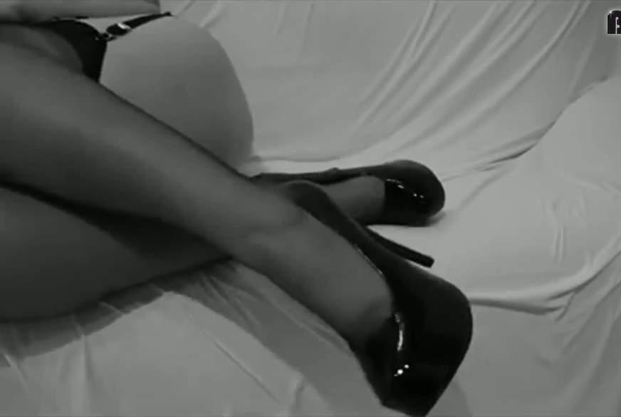 sexy corsage und nylons