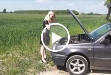 Autopanne- Für Hilfe gibt\'s nen Fick!