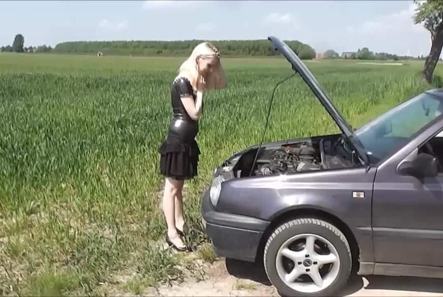Autopanne- Für Hilfe gibt\'s nen F**k!