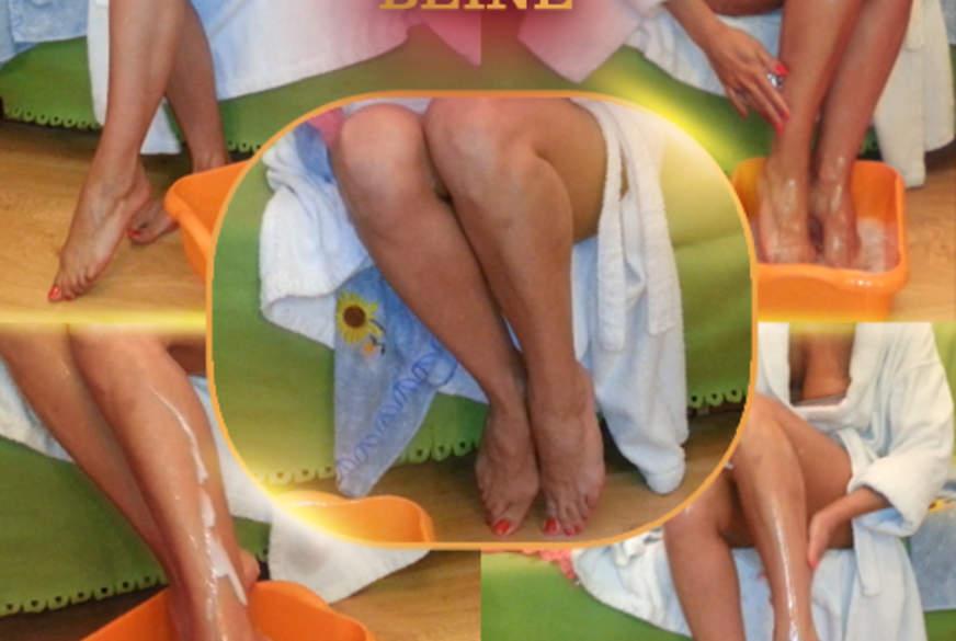 Glänzende Beine