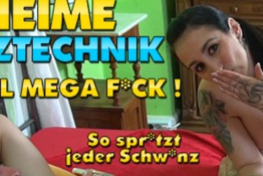 Geheime S****ztechnik nach XXL User-F**k ! So s****zt jeder S*****z !!!