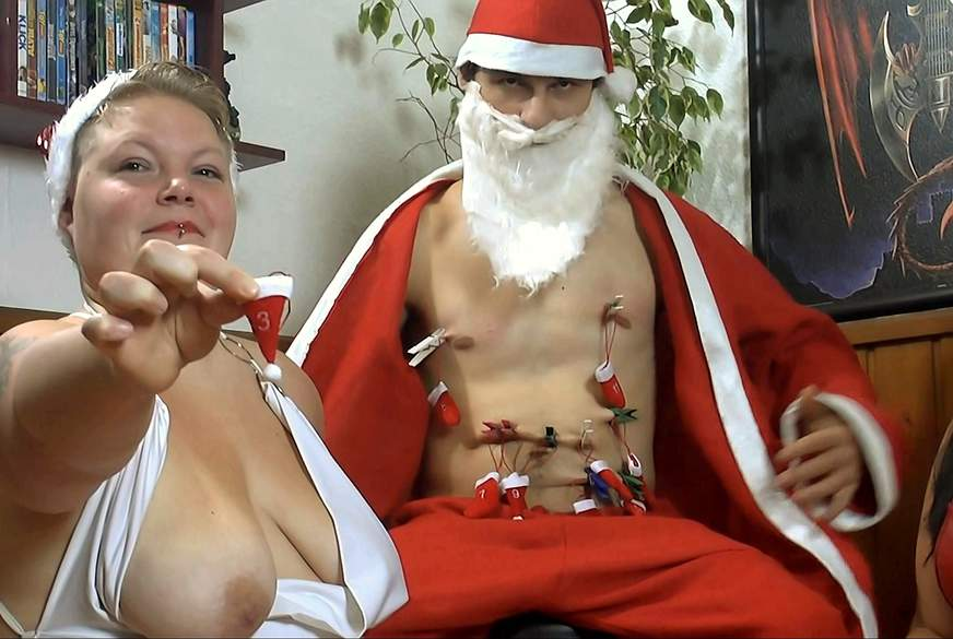 Weihnachts Überraschung 3 - Nylons und D***o