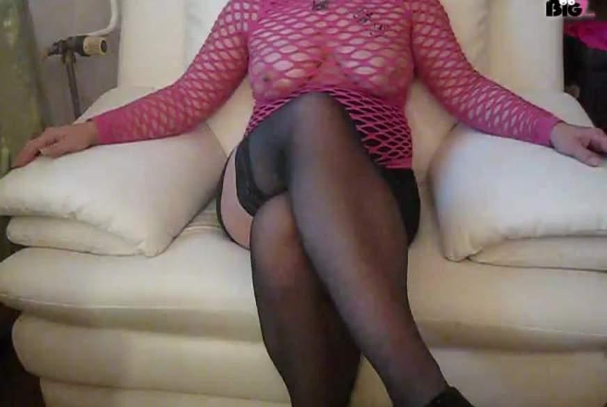 Im Netz-Outfit