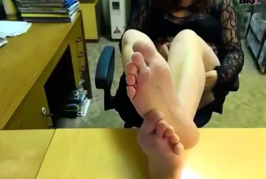 Süchtig nach meinen Füßen