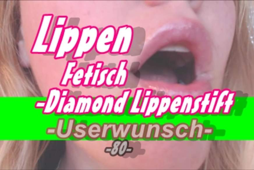 Lippen Fetisch