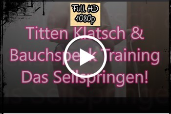Titten Klatsch & Bauchspecktraining -Das Seilspringen-