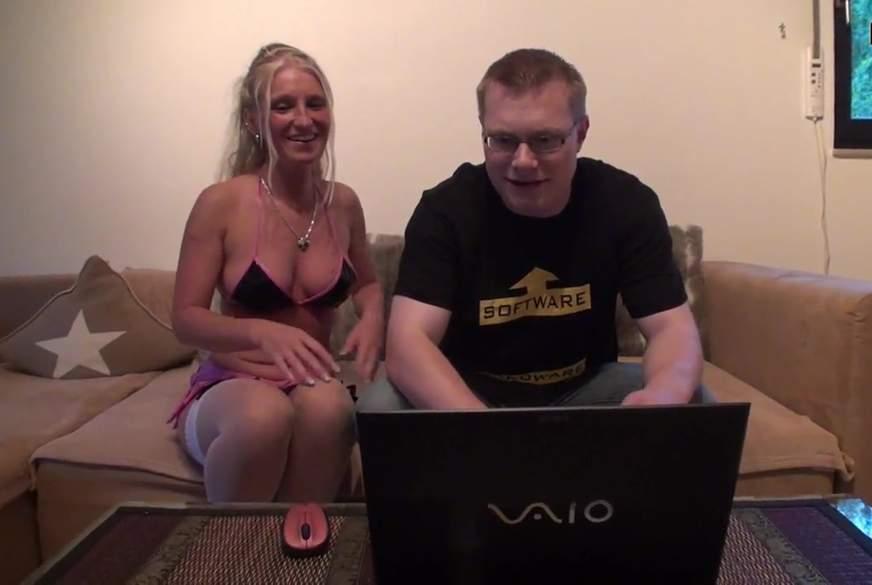 Der PC Techniker ! Sein Lohn ist Sex