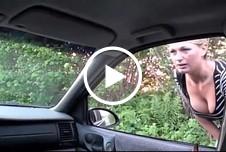 Die Anhalterin - Vom Fremden im Auto gefickt