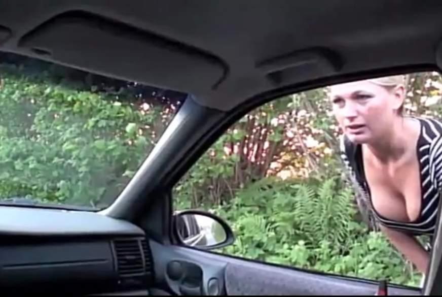 Die Anhalterin - Vom Fremden im Auto g*****t