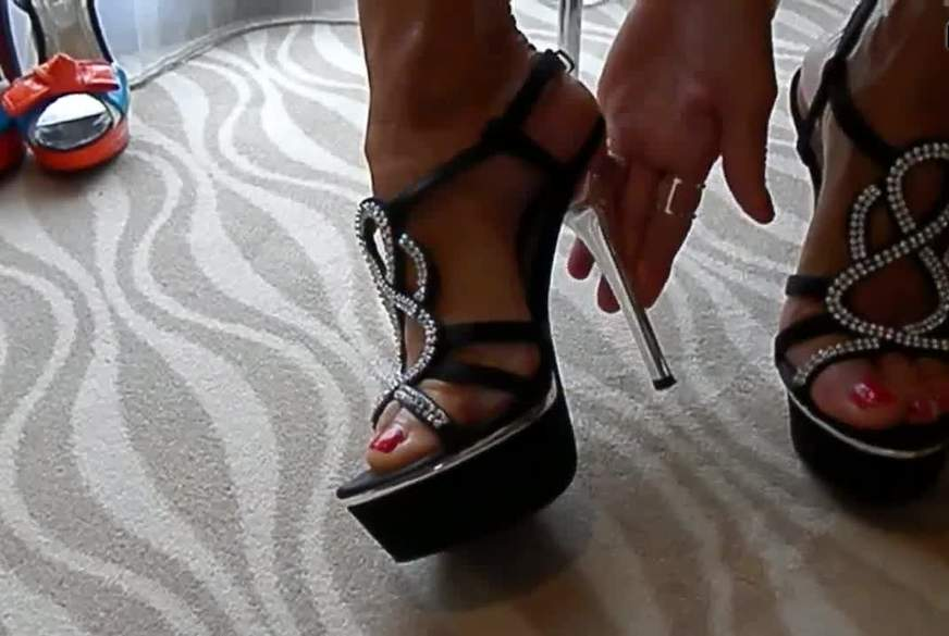 Du liebst meine Füße... ich weiß es!