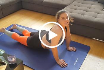 Beim Yoga a**l überrascht!