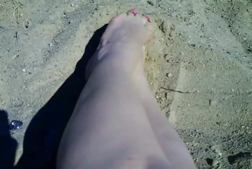 Spanner -Fuß in der V***e