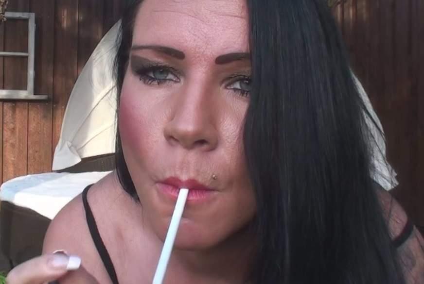 Welch geiler Rauchgenuß
