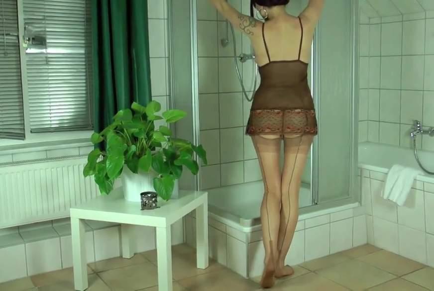 Unter der Dusche G*******t!