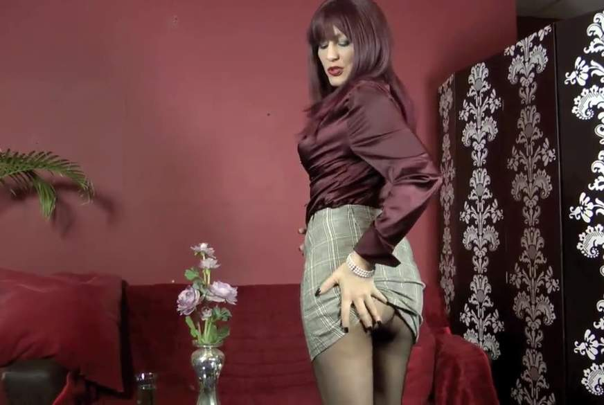 Black Pantyhose Sex- Dirty Talk!