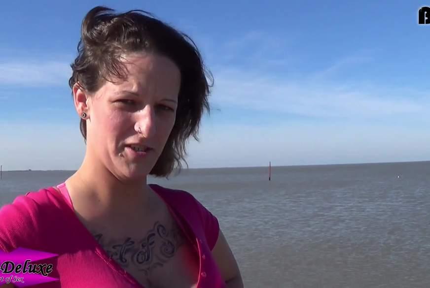 Gummistiefel #4 - Am Strand bei Flut