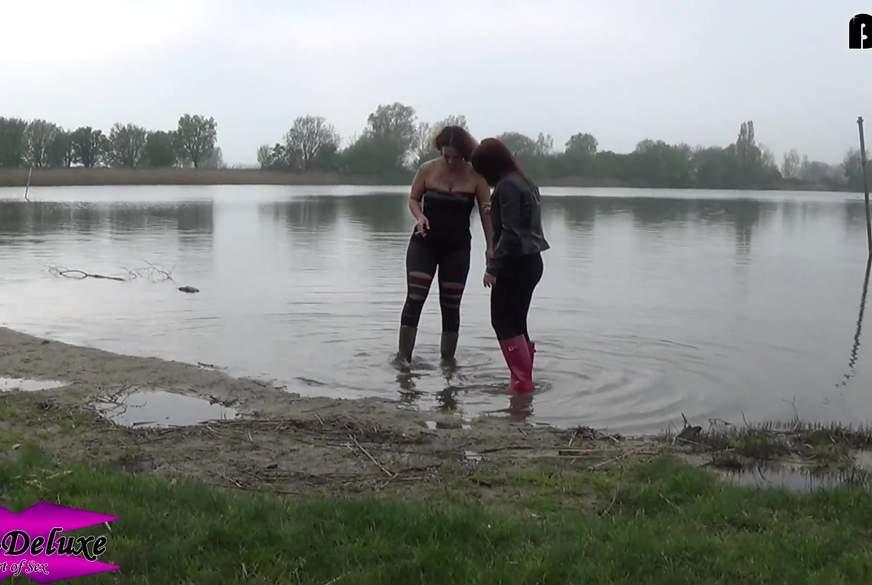 Gummistiefel #9 - Am See mit einer Anfängerin