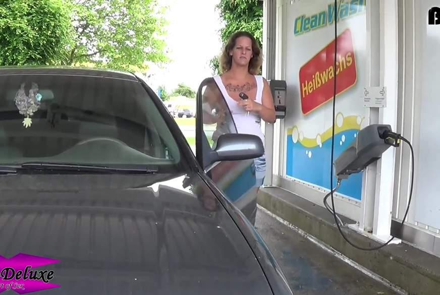 Sexy Public Carwash