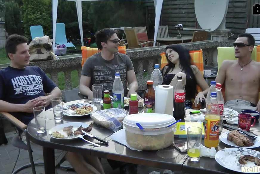 V******e Grillparty mit J*********z W****e