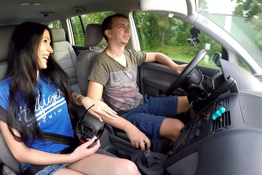 Besten Freund im Auto leer gel*****t