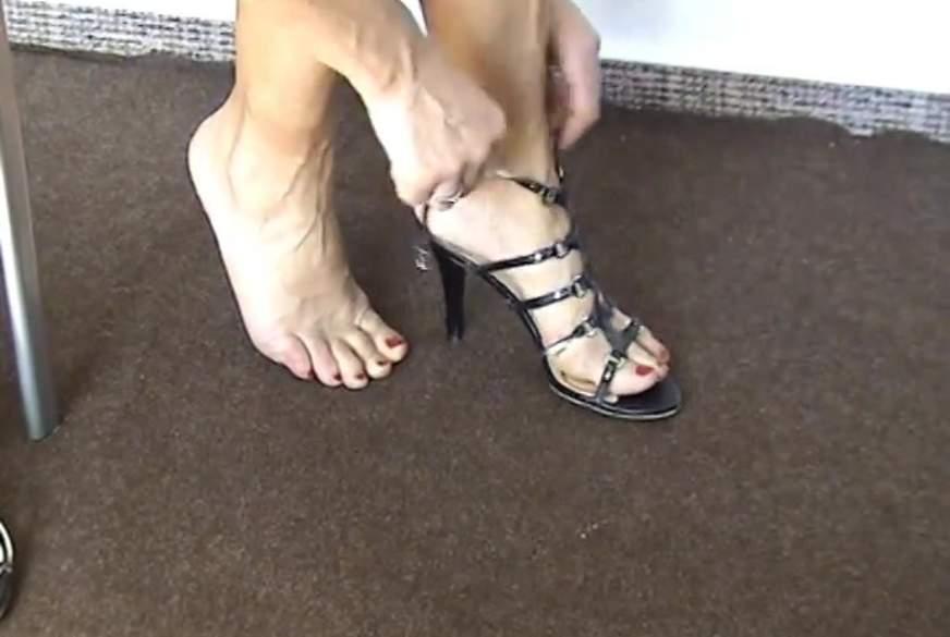 High-Heels - schicke Sandalen
