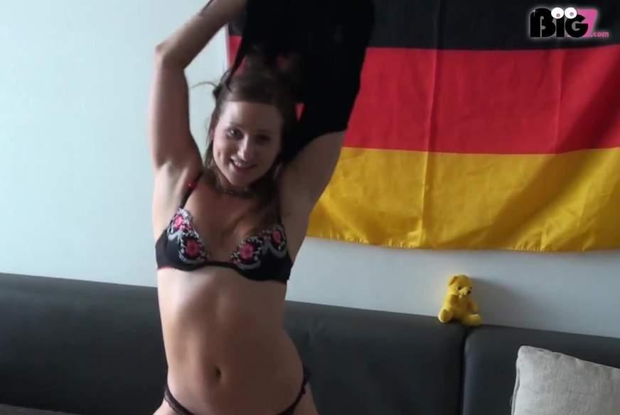 Die deutsche Nachbarin !