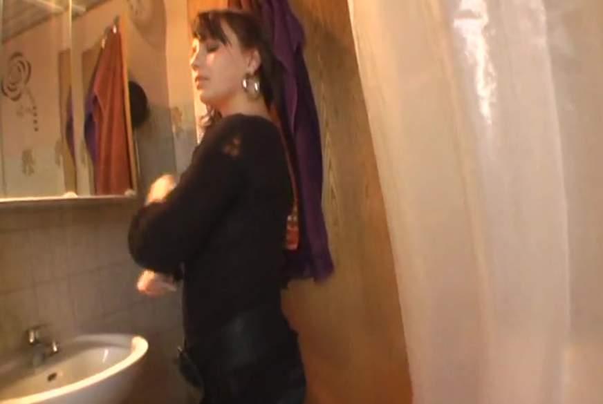 strippen p**i duschen