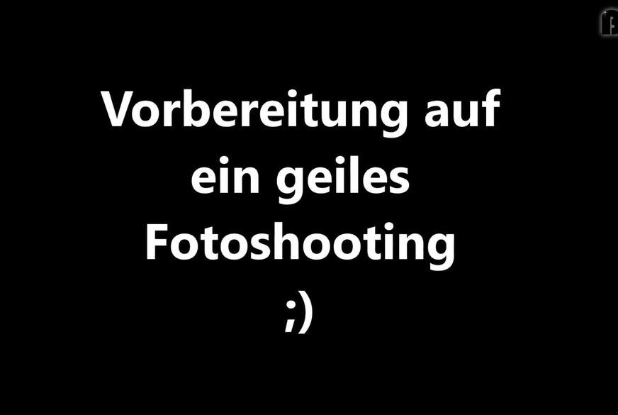 Vorbereitung eines Fotoshootings