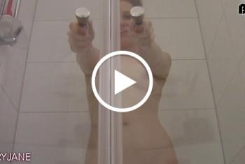 Geil unter der Dusche