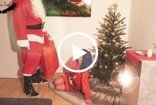 Endlich treffe ich den Weihnachtsmann und lass mich h**t f****n