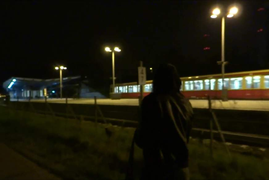 N*****l am S-Bahnhof Rummelsburg