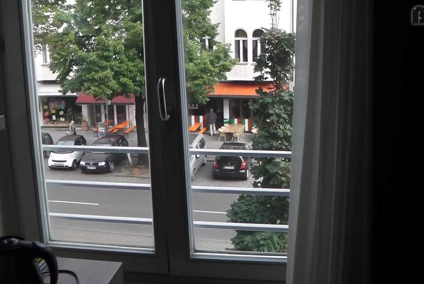 Am Hotelfenster in Berlin