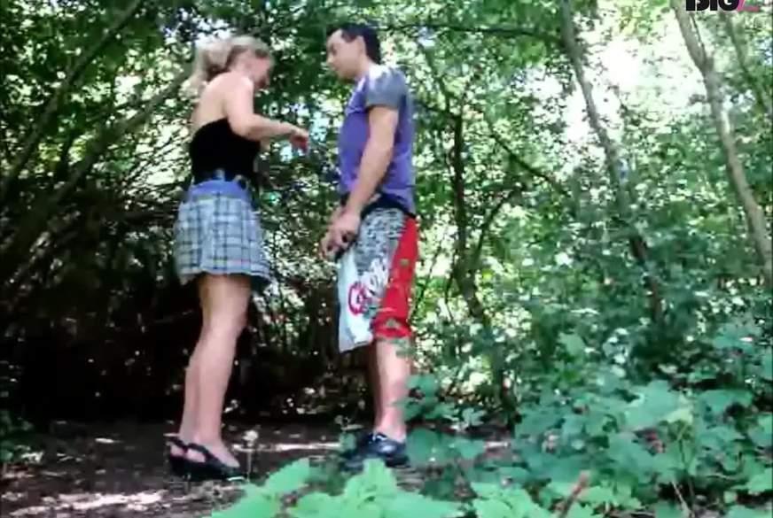 Erwischt beim Outdoorsex