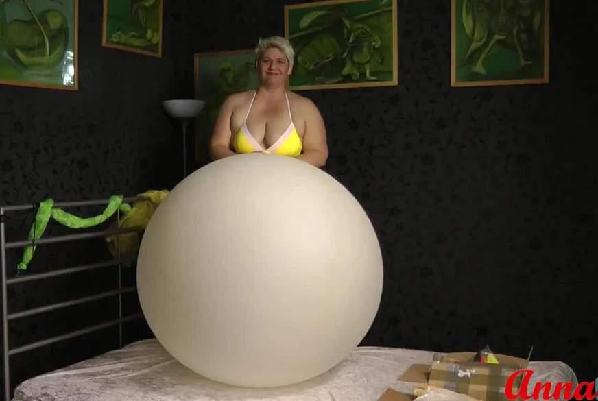 Mein Sit in auf dem Wetterballon