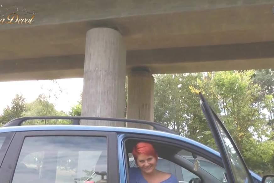 Auf dem Schützenfest Parkplatz